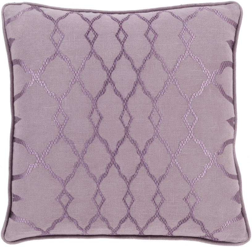 Surya LY-003 Square Indoor Decorative Pillow with Down or Polyester