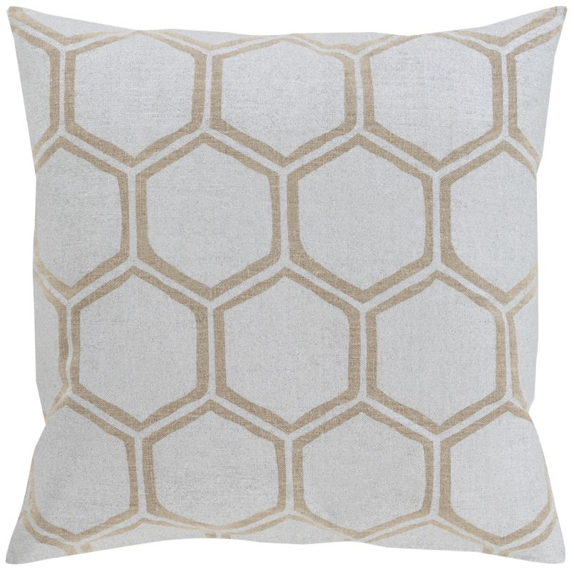Surya MS-003 Square Indoor Decorative Pillow with Down or Polyester Sale $51.60 ITEM: bci2694395 ID#:MS003-1818P UPC: 888473247852 :