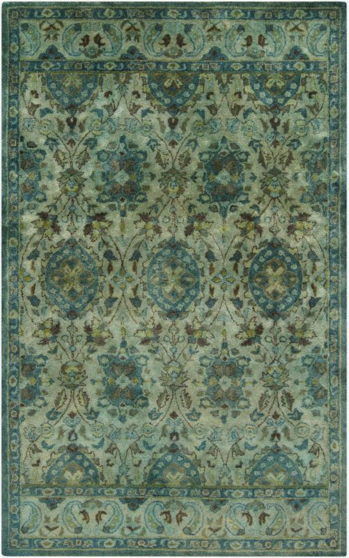 Surya MYK-5000 Mykonos Hand Tufted 100% Wool Rug 5 x 8 Rectangle Home Sale $1095.60 ITEM: bci2706899 ID#:MYK5000-58 UPC: 764262651812 :