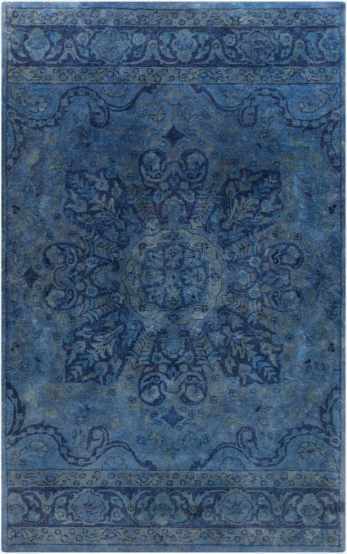 Surya MYK-5004 Mykonos Hand Tufted 100% Wool Rug 5 x 8 Rectangle Home Sale $1095.60 ITEM: bci2706366 ID#:MYK5004-58 UPC: 764262694215 :