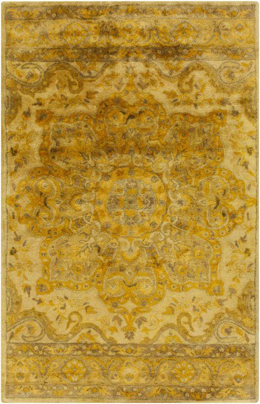 Surya MYK-5007 Mykonos Hand Tufted 100% Wool Rug 5 x 8 Rectangle Home Sale $1095.60 ITEM: bci2706378 ID#:MYK5007-58 UPC: 764262654158 :