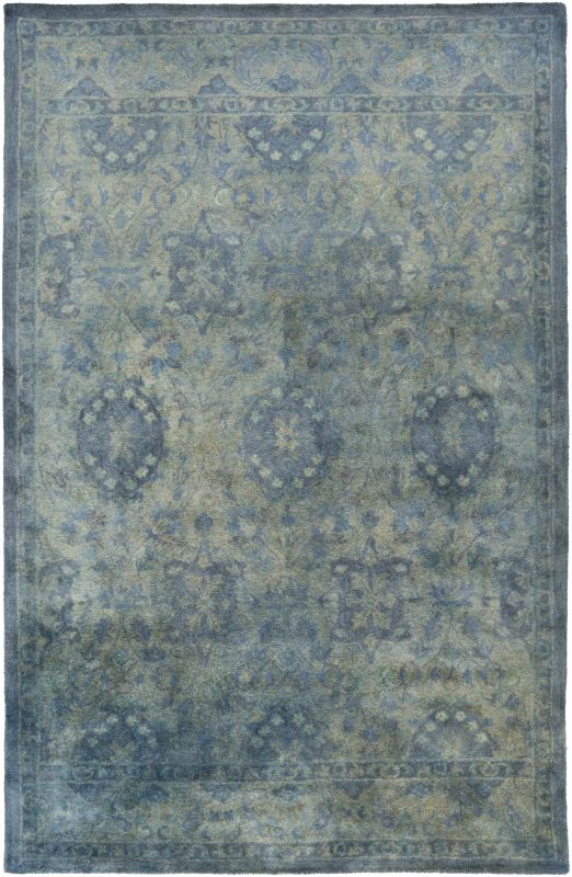 Surya MYK-5015 Mykonos Hand Tufted 100% Wool Rug 5 x 8 Rectangle Home Sale $1095.60 ITEM: bci2706410 ID#:MYK5015-58 UPC: 888473248903 :