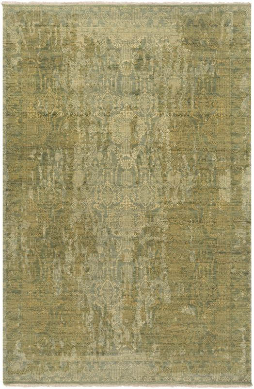Surya PLC1000 Palace Hand Knotted 100% Wool Rug 8 x 10 Rectangle Home