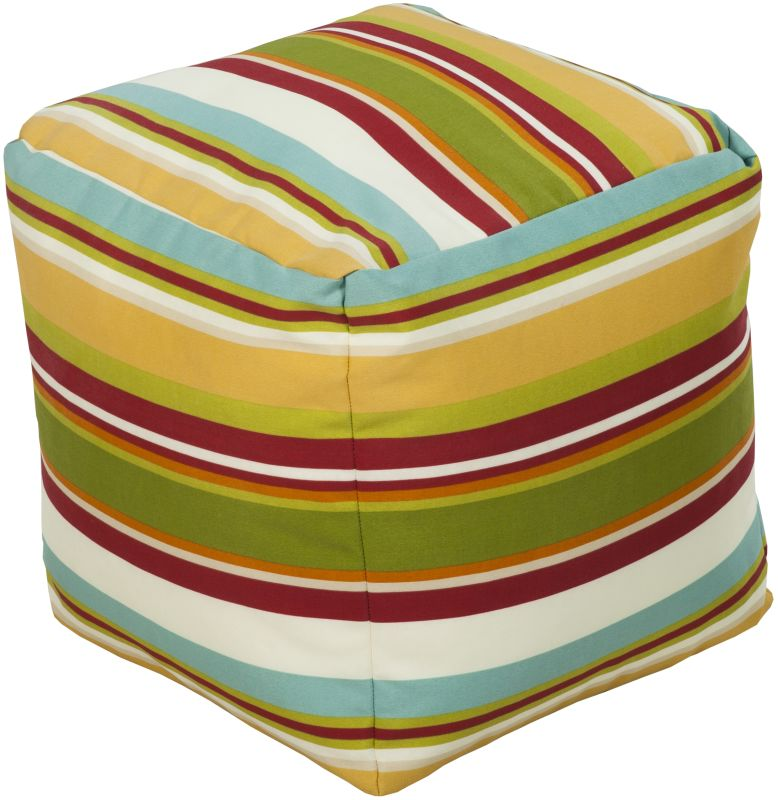 Surya POUF-113 Outdoor Pouf from the Surya Poufs collection Sunflower
