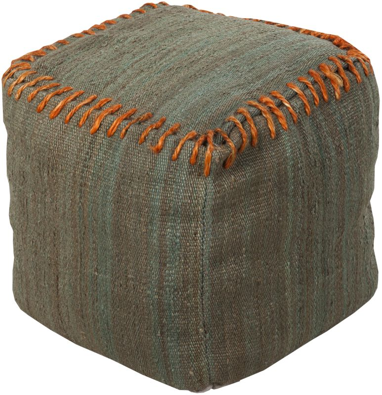 Surya POUF-187 Indoor Pouf from the Surya Poufs collection Moss Home