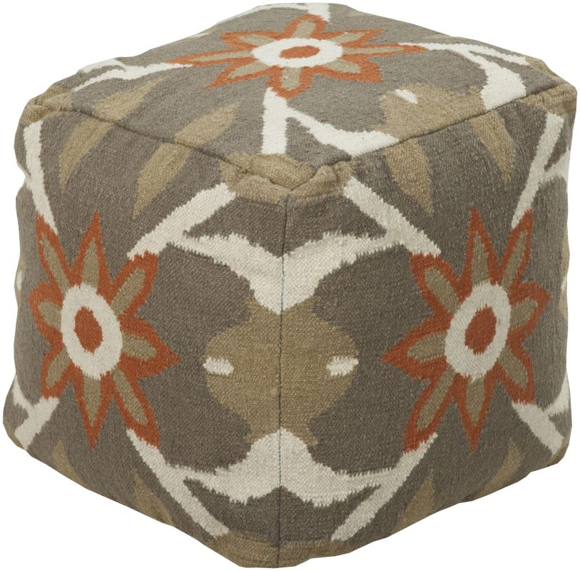 Surya POUF-33 Indoor Pouf from the Surya Poufs collection Olive Home