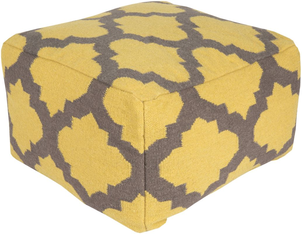 Surya POUF-151 Indoor Pouf from the Surya Poufs collection 24 x 24