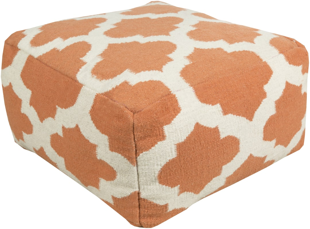 Surya POUF-152 Indoor Pouf from the Surya Poufs collection 24 x 24