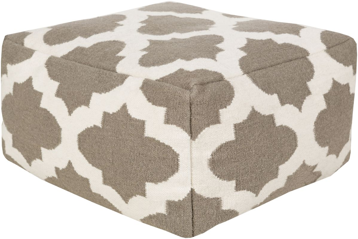 Surya POUF-155 Indoor Pouf from the Surya Poufs collection 24 x 24