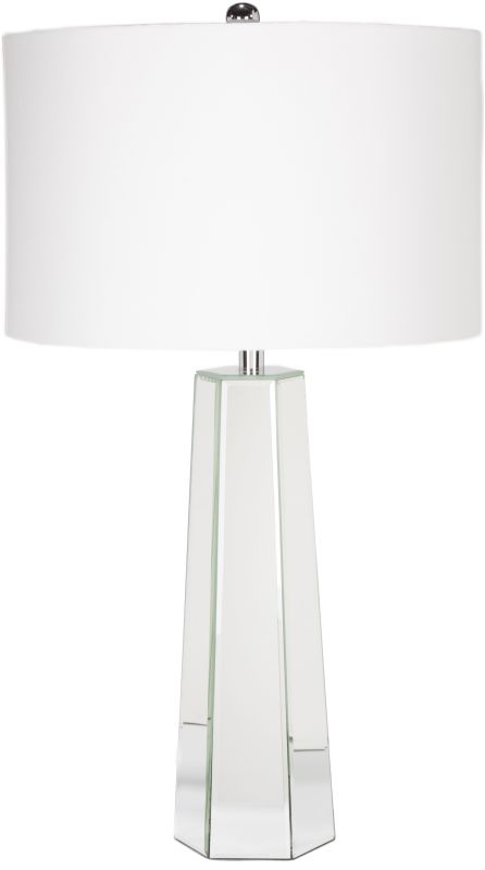 Surya PRLP Perry 1 Light Table Lamp White Lamps Accent Lamps