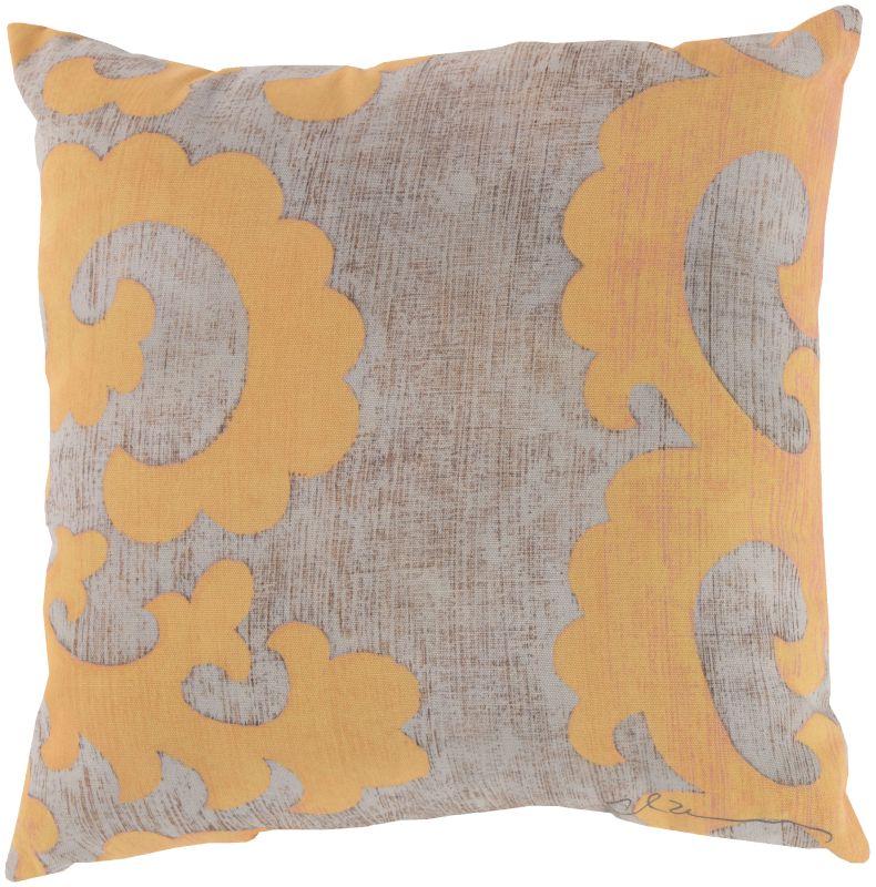 Surya RG-020 Rain Indoor / Outdoor Pillow 18 x 18 Home Decor Pillows