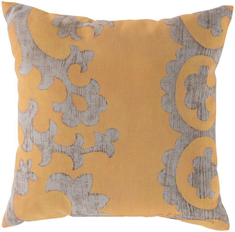 Surya RG-024 Rain Indoor / Outdoor Pillow 18 x 18 Home Decor Pillows