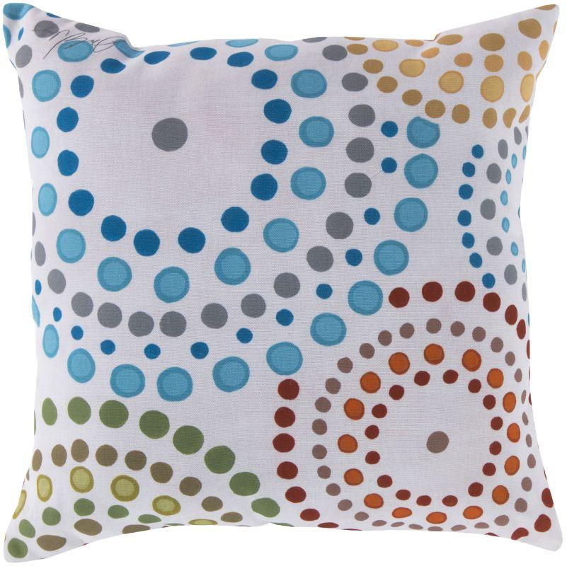 Surya RG-034 Rain Indoor / Outdoor Pillow 18 x 18 Home Decor Pillows