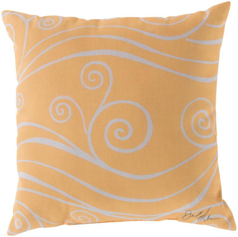 Surya RG-039 Rain Indoor / Outdoor Pillow 18 x 18 Home Decor Pillows