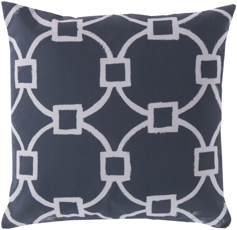 Surya RG-045 Rain Indoor / Outdoor Pillow 18 x 18 Home Decor Pillows