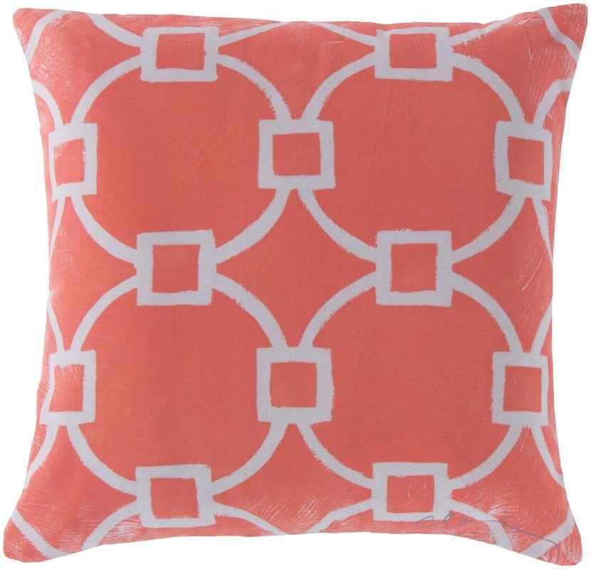 Surya RG-046 Rain Indoor / Outdoor Pillow 18 x 18 Home Decor Pillows