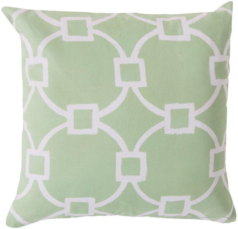 Surya RG-047 Rain Indoor / Outdoor Pillow 18 x 18 Home Decor Pillows