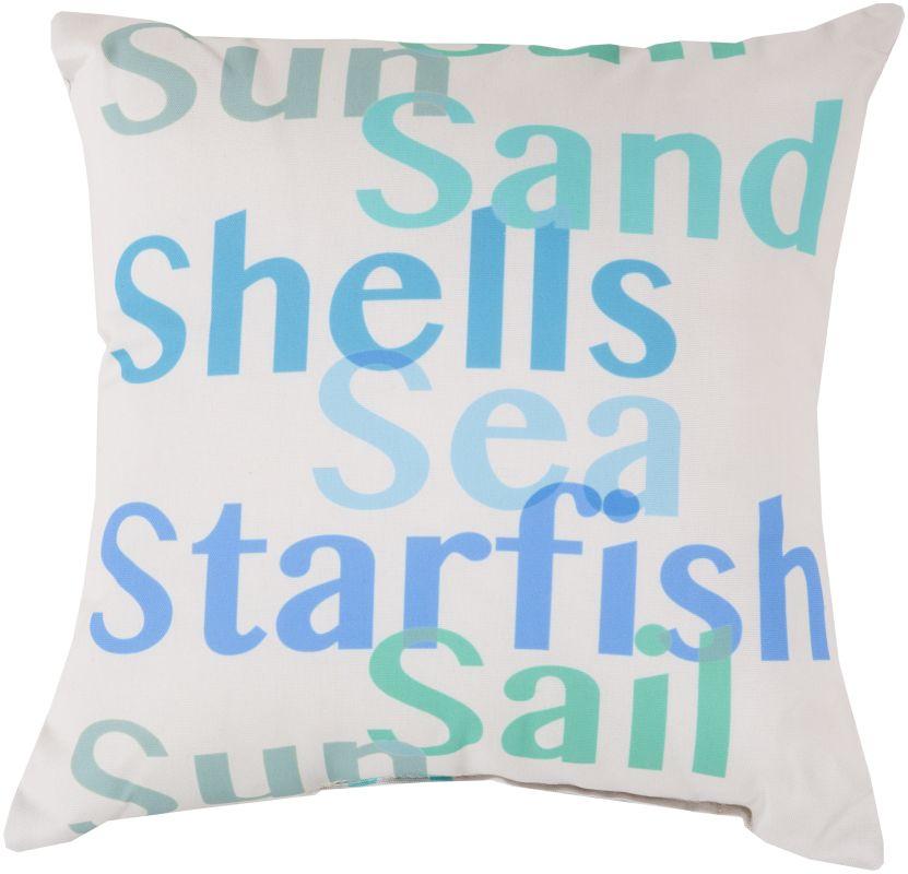 Surya RG-089 Rain Indoor / Outdoor Pillow 26 x 26 Home Decor Pillows