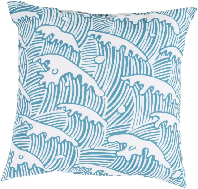 Surya RG-098 Rain Indoor / Outdoor Pillow 18 x 18 Home Decor Pillows