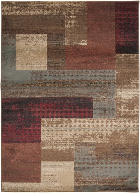 Surya RLY5004 Riley Power Loomed 100% Polypropylene Rug 4 x 5 1/2