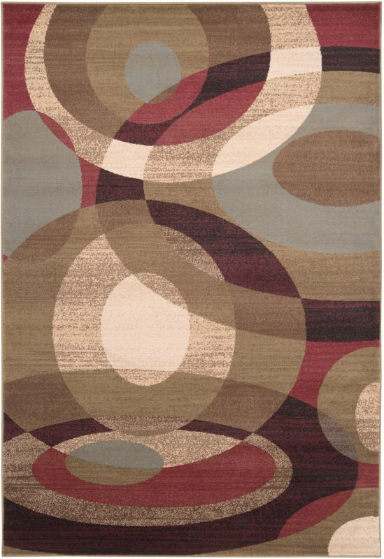 Surya RLY5007 Riley Power Loomed 100% Polypropylene Rug 8 x 11