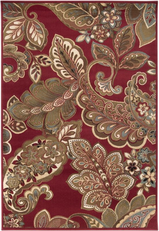 Surya RLY5020 Riley Power Loomed 100% Polypropylene Rug 8 x 11