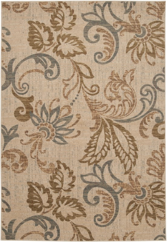 Surya RLY5023 Riley Power Loomed 100% Polypropylene Rug 2 x 3 1/2