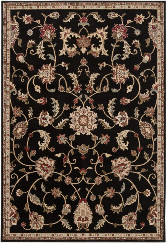 Surya RLY5025 Riley Power Loomed 100% Polypropylene Rug 4 x 5 1/2