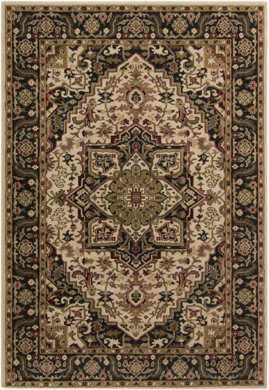 Surya RLY5038 Riley Power Loomed 100% Polypropylene Rug 6 1/2 x 10