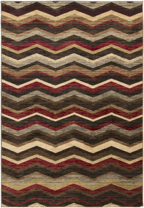 Surya RLY5064 Riley Power Loomed 100% Polypropylene Rug 6 1/2 x 10