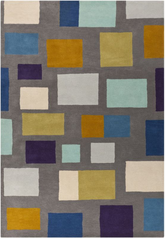Surya SCI14 Scion Hand Tufted 100% Wool Rug 8 x 11 Rectangle Home Sale $1107.40 ITEM: bci2714455 ID#:SCI14-811 UPC: 764262808100 :