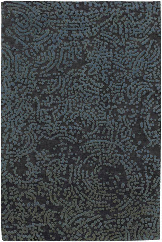 Surya SH7413 Shibui Hand Knotted 100% Semi-Worsted New Zealand Wool