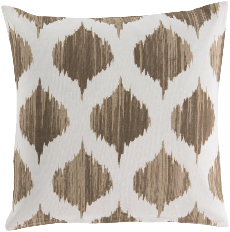Surya SY-018 Square Indoor Decorative Pillow with Down or Polyester