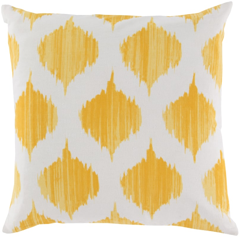 Surya SY-020 Square Indoor Decorative Pillow with Down or Polyester