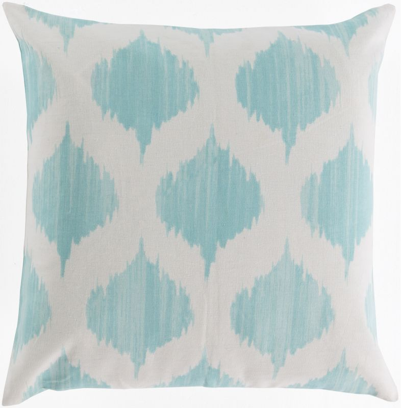 Surya SY-023 Square Indoor Decorative Pillow with Down or Polyester