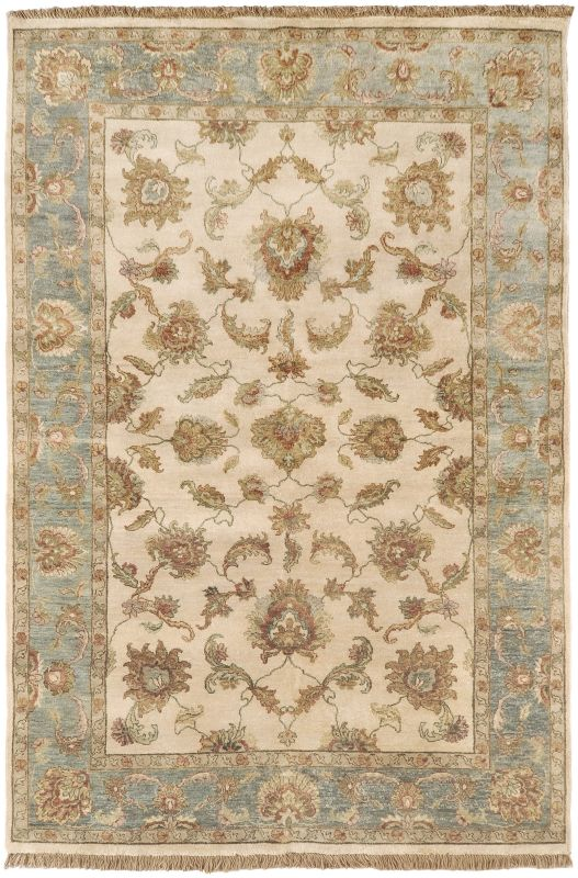 Surya TIM7913 Timeless Hand Knotted 100% New Zealand Wool Rug 9 x 13