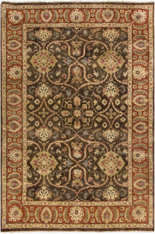 Surya TIM7920 Timeless Hand Knotted 100% New Zealand Wool Rug 9 x 13 Sale $8461.20 ITEM: bci2717005 ID#:TIM7920-913 UPC: 764262644654 :