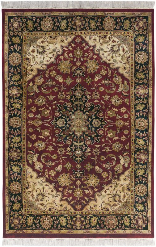 Surya TJ2000 Taj Mahal Hand Knotted 100% Semi-Worsted New Zealand Wool Sale $1278.00 ITEM: bci2717056 ID#:TJ2000-3656 UPC: 764262943283 :