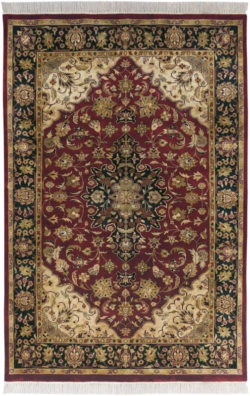 Surya TJ2000 Taj Mahal Hand Knotted 100% Semi-Worsted New Zealand Wool