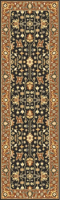 Surya TJ6599 Taj Mahal Hand Knotted 100% Semi-Worsted New Zealand Wool Sale $1324.80 ITEM: bci2717073 ID#:TJ6599-268 UPC: 888473061175 :