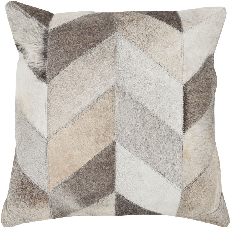 Surya TR-003 Square Indoor Decorative Pillow with Down or Polyester