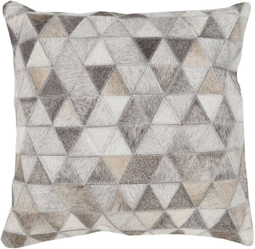 Surya TR-004 Square Indoor Decorative Pillow with Down or Polyester