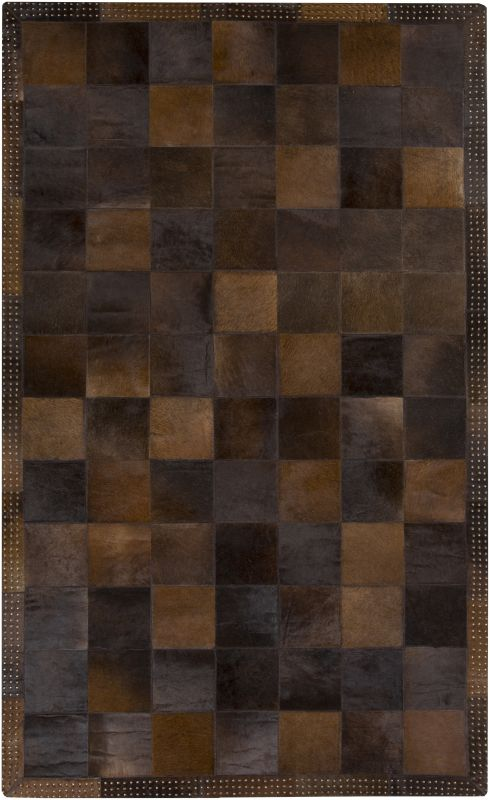 Surya VGS3001 Vegas Hand Loomed 100% Hide Rug 10 x 14 Rectangle Home