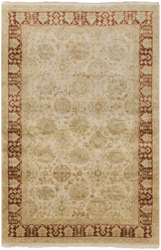 Surya VIC2001 Victoria Hand Knotted 100% New Zealand Wool Rug 8 x 11