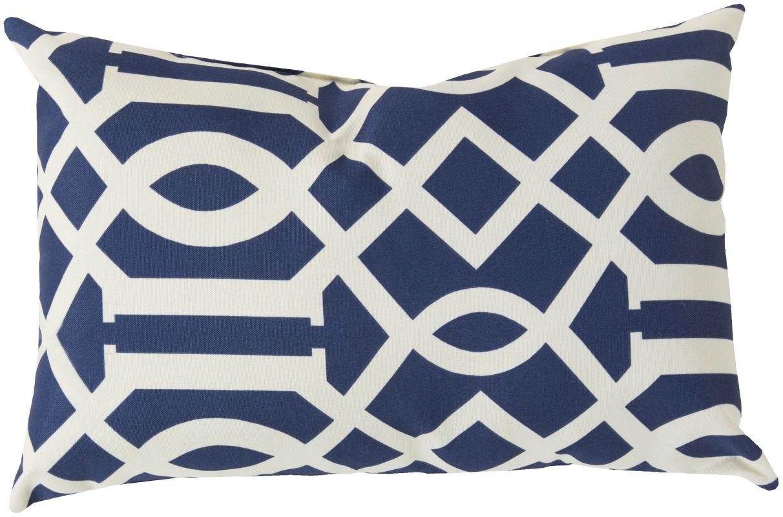 Surya ZZ-414 Storm Indoor / Outdoor Pillow 13 x 20 Home Decor Pillows