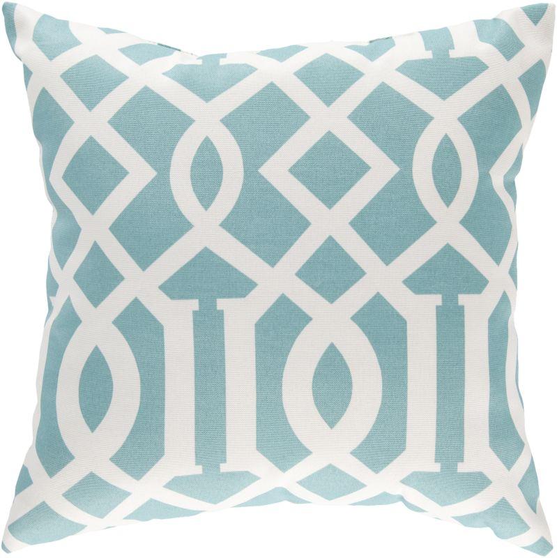 Surya ZZ-417 Storm Indoor / Outdoor Pillow 22 x 22 Home Decor Pillows