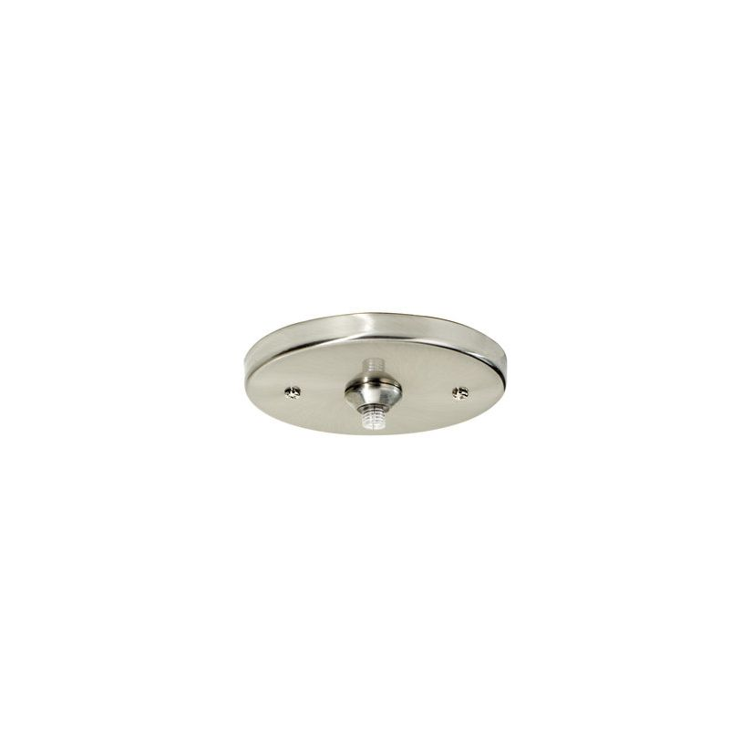 "Tech Lighting 700FJ4RF FreeJack 4"" Round Flush Canopy 120v In / 12v"