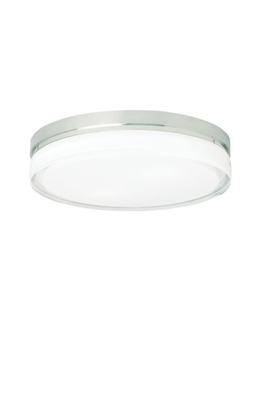 "Tech Lighting 700CQL-LED277 Cirque 277v LED 11"" Flush Mount Ceiling"