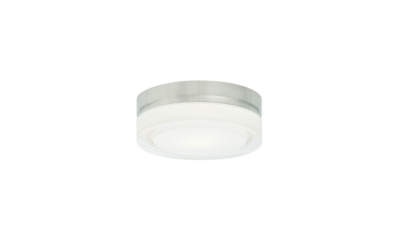 "Tech Lighting 700CQS Cirque Halogen 1 Light 6"" Flush Mount Ceiling"