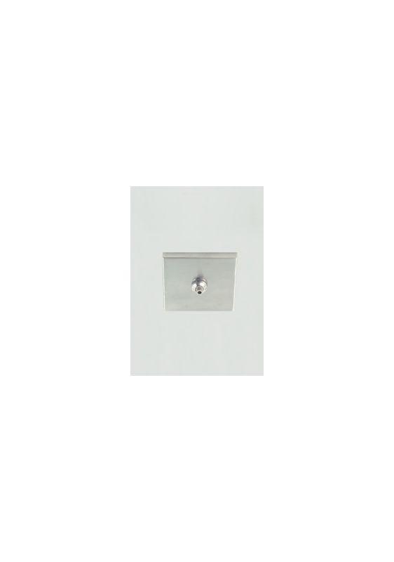 """Tech Lighting 700FJ4SQ024 FreeJack 4"""" Square Flush Canopy 120v In /"""